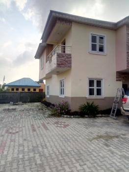 Newly Built 4 Numbers of 3 Bedroom Duplex with 2 Sitting Room, Large Store and Balcony, Ogombo Road Off Abraham Adesanya, Ajah, Lekki Phase 2, Lekki, Lagos, Terraced Duplex for Rent