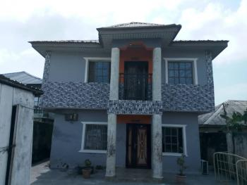 Block of 2 Bedroom Flat with 2 Bedroom Servant Quarters Built on Half Plot of Land for Mixed Use Purpose, Close to Mayfair Gardens Estate, Eputu, Ibeju Lekki, Lagos, Block of Flats for Sale