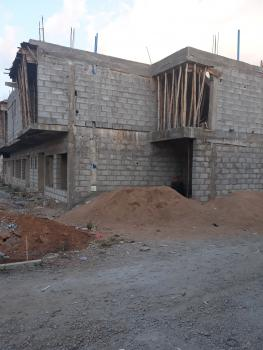 3 Bedrooms Semi Detached Duplex with Servant Quarters, The Paradise Estate, Near Turkish Hospital, Jabi, Abuja, Semi-detached Duplex for Sale