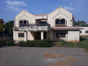 Old Demolish-able Twin 5 Bedrooms Duplexes with Domestic Quarters, Off Yakubu Gowon Way, Near Ecowas, Asokoro District, Abuja, Detached Duplex for Sale