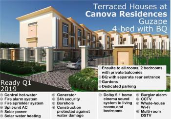 Irresistible 4 Bedroom Terrace with Bq, Guzape District, Abuja, Terraced Duplex for Sale