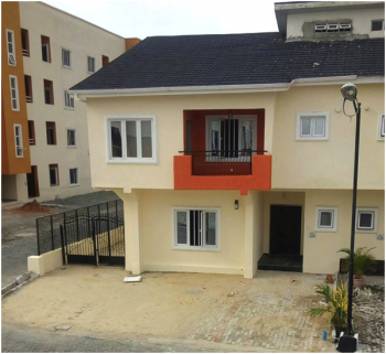 Tastefully Finished 4-bedroom Semi-detched House Within a Well Managed Gated Community, New Horizon 2 Estate, Alma Beach, Lekki, Lagos, Semi-detached Duplex for Sale
