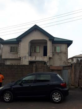 Duplex Converted to 2 Flats, Harmony Estate. Off College Road, Ogba, Ikeja, Lagos, House for Sale