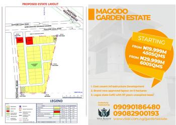 Brand New Magodo Garden Estate Plots with an Approved Layout in Magodo Shangisha with 98 Years Unexpired Lease Title, Magodo Shangisha New Scheme Layout, Gra, Magodo, Lagos, Residential Land for Sale