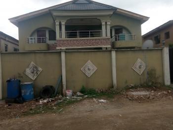 Renovated 3 Bedroom  Flat, All Tiles Floor, Upstairs, Separate Staircase, Each Room with Wardrobe, Alimosho Road, Egbeda, Alimosho, Lagos, Block of Flats for Sale