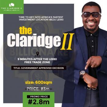The Claridge Ii, Ibeju Lekki, Lagos, Mixed-use Land for Sale