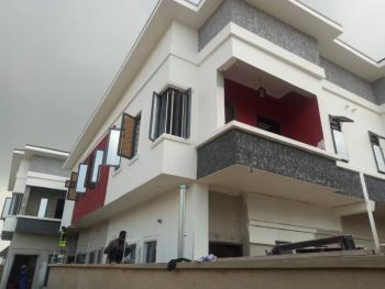 Brand New 4 Bedroom Duplex with Governors Consent Rapidly on Finishing Process (payment Plan Available), Chevron Axis, Lekki, Lagos, Semi-detached Duplex for Sale