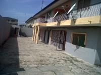 3 Bedroom Flat All Room En-suite + Block of 4, Akoka, Yaba, Lagos, Flat for Rent