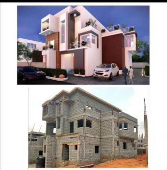 (castle) Luxury Fully Finished 5 Bedroom Standalone + Attached Bq, Mabushi By Mobil, Mabuchi, Abuja, Detached Duplex for Sale