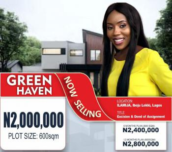(give Away Price for an Excision Titled Land), Green Haven Estate, Ilamija, Ibeju Lekki, Lagos, Mixed-use Land for Sale