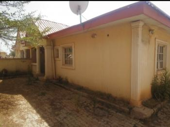 a Fairly Maintained 3 Bedroom Bungalow House Together with a Bq, Just Off Ebaeno Supermarket Junction, Across From Lokogoma Junction, Gaduwa, Abuja, Semi-detached Bungalow for Rent