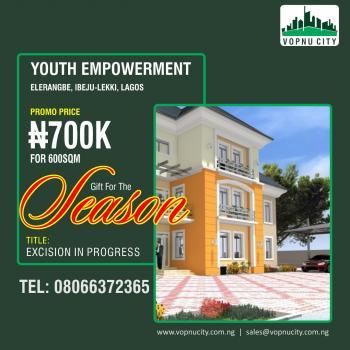 Vopnu City Youth Empowerment, Eleranigbe, Ibeju Lekki, Lagos, Residential Land for Sale