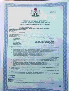 4.66 Hectare Housing Estate Plot, Wassa District, Apo, Abuja, Residential Land for Sale