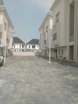 Very Well Maintained Luxury 4 Bedrooms Terraced Duplex, Canal West Estate, Osapa, Lekki, Lagos, Terraced Duplex for Rent