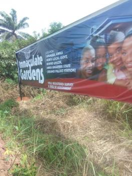 Dry Land for Sale in Awka, By Amansea, Behind Unizik, Awka, Anambra, Land for Sale