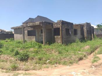 Uncompleted Building (duplex and Two 3 Bedroom Flat), Zone C, Goshen Estate, Asero, Abeokuta South, Ogun, Semi-detached Duplex for Sale