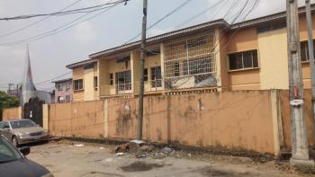 a House of 4 Units of 2 Bedroom Flats, Oyadiran Estate, By Commercial Avenue, Sabo, Yaba, Lagos, Block of Flats for Sale