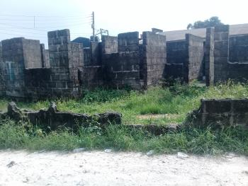 Well Located Land Measuring 675 Sqm with an Uncompleted Structure, Stadium Road, Rumuomasi, Port Harcourt, Rivers, Mixed-use Land for Sale