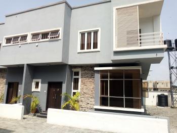 Exquisitely Finished 4 Bedroom Semi-detached Corner Piece Duplex with a Room Bq, Idado, Lekki, Lagos, Semi-detached Duplex for Sale