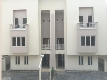 Brand New Self Serviced 4 Bedroom with a Bq, Behind Circle Mall(shoprite), Osapa, Lekki, Lagos, Terraced Duplex for Rent