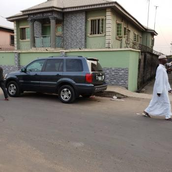 Building of Four Unit of Three Bedroom at Dopemu with C of O, Akowonjo, Alimosho, Lagos, Block of Flats for Sale