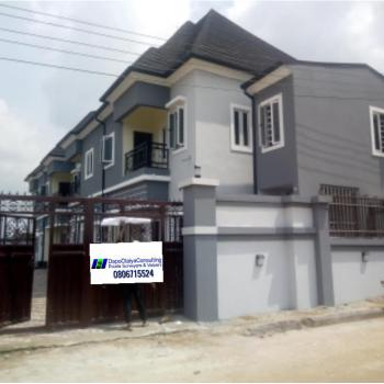 a Tastefully Finished Art of Edifice Consisting of 4 Unit of 2 Bedroom Terrace Houses, Queen Park Estate, Eneka, Port Harcourt, Rivers, Terraced Duplex for Sale
