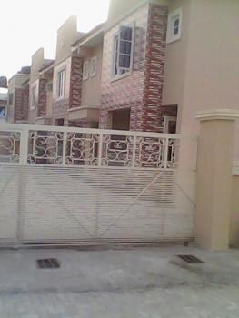 Beautiful Terrace Duplex, S- Forte Estate, Thomas Estate, Ajah, Lagos, Terraced Duplex for Rent