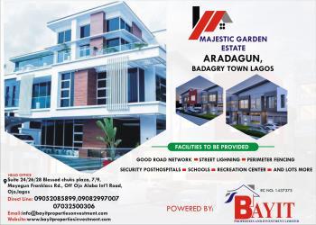 Landed Properties, Majestic Garden Estate, Aradagun, Badagry, Lagos, Mixed-use Land for Sale