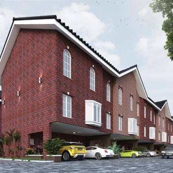 7 Units Terrace of 4 Bedrooms with Bq, Furnished, Off Salem Junction, Ilasan, Ikate Elegushi, Lekki, Lagos, Terraced Duplex for Sale