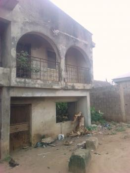 Standard Plot of Land with Building on Major Road, Abule Egba Ilepo, Alimosho, Lagos, Plaza / Complex / Mall for Sale