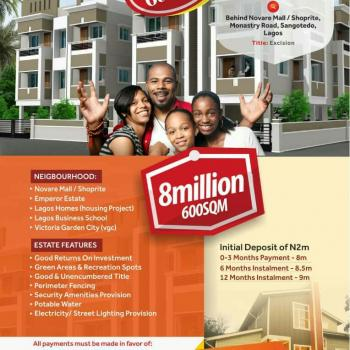 Berry Court Phase 2, Off Monastery Road, Sangotedo, Ajah, Lagos, Mixed-use Land for Sale