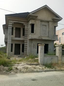 Finished to Your Taste 4 Bedroom Duplex, Fountain Springville Estate, Sangotedo, Ajah, Lagos, Detached Duplex for Sale