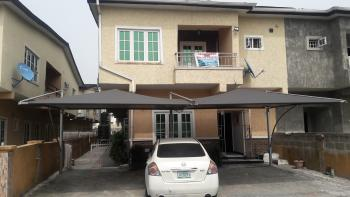 a State of The Art Luxury 5 Bedroom S-detached Duplex All Rooms Ensuite, Private Side Section, Lekki Gardens Estate, Ajah, Lagos, Semi-detached Duplex for Sale