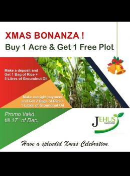 Xmas Promo, Acres of Farmlands at Discounted Prices and Bonuses for You., Remo North, Ogun, Industrial Land for Sale