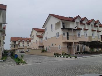 Serviced 4 Bedroom Semi-detached Duplex, Cooplag Gardens Estate, Lafiaji, Lekki, Lagos, Semi-detached Duplex for Rent