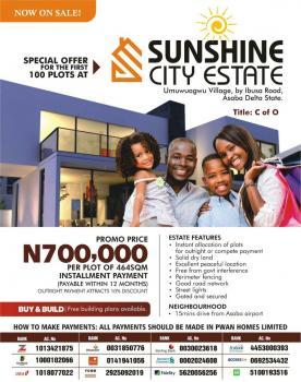 Sunshine City Estate, Oshimili North, Delta, Land for Sale