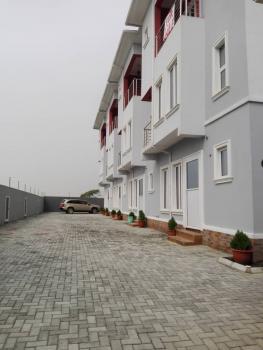 Brand New 4 Bedroom Terrace Duplex with a Room Bq, Atlantic View Estate, Igbo Efon, Lekki, Lagos, Terraced Duplex for Sale