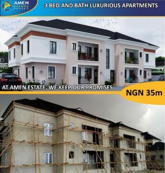 Executive Serviced Plot with State of The Arts Estate Facilities at Amen Estate 2, Amen Estate, Eleko Junction, Eleko, Ibeju Lekki, Lagos, Residential Land for Sale