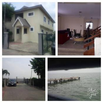 Spacious Waterfront 4 Bedroom Semidetached House with 2 Rooms Bq, Osborne Phase 1, Osborne, Ikoyi, Lagos, Semi-detached Duplex for Sale
