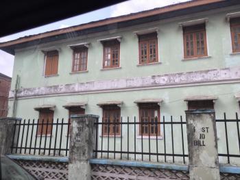 House on 600sqm Land, Hughes Street, Alagomeji, Yaba, Lagos, Detached Duplex Joint Venture