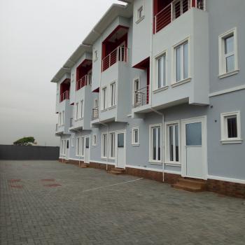 Brand New Stylishly Build 4 Units 4 Bedroom Terrace Duplex with Bq, Alpha Beach Road, Atlantic View Estate, Igbo Efon, Lekki, Lagos, House for Sale