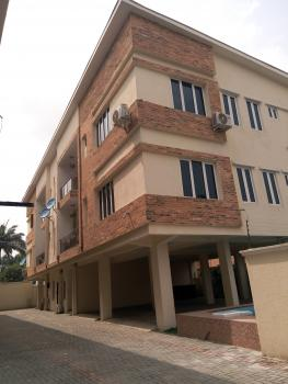 Newly Built 8 Units of 3 Bedroom Apartment with a Room Bq, Fitted Kitchen, Swimming Pool, Etc, Off Queens Drive, Old Ikoyi, Ikoyi, Lagos, Flat for Rent