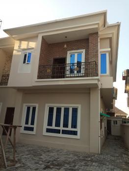 Fantastically Built 4 Bedroom Semi Detached Duplex with a Room Boys Quarters, Beside Chevy View, Idado, Lekki, Lagos, Semi-detached Duplex for Sale