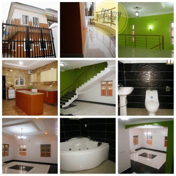 Tastefully Finished 5 Bedroom Fully Detached Duplex with Large Rooms and Bq, Chevy View Estate, Lekki, Lagos, Detached Duplex for Rent