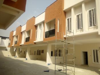 Brand New 4 Bedroom Serviced Terraced Duplex, By Chevron Toll Gate, Lekki Expressway, Lekki, Lagos, Terraced Duplex for Sale