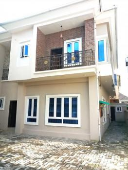 Spacious 4 Bedroom Semi Detached Duplex with Bq and Gate House with Separate Personal Compounds, Before Chevron Traffic Light Coming From Lekki 1, Idado, Lekki, Lagos, Semi-detached Duplex for Sale