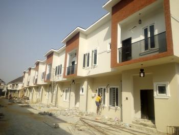 Brand New 4 Bedroom Serviced Terraced Duplex with S/pool, By Chevron Toll Gate, Lekki Expressway, Lekki, Lagos, Terraced Duplex for Sale