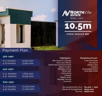 Northville Estate, Bogije, Ibeju Lekki, Lagos, Residential Land for Sale