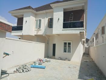 Serviced 4 Bedrooms with Bq, Near Chevron Toll Gate Lekki, Lekki, Lagos, Semi-detached Duplex for Sale