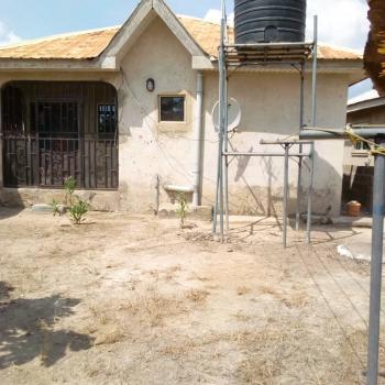 2 Bedroom Detached Bungalow on Half Plot, Ogunrun Phase 3, Close to Adebayo 2 Block Industry, Mowe Ofada, Ogun, Detached Bungalow for Sale